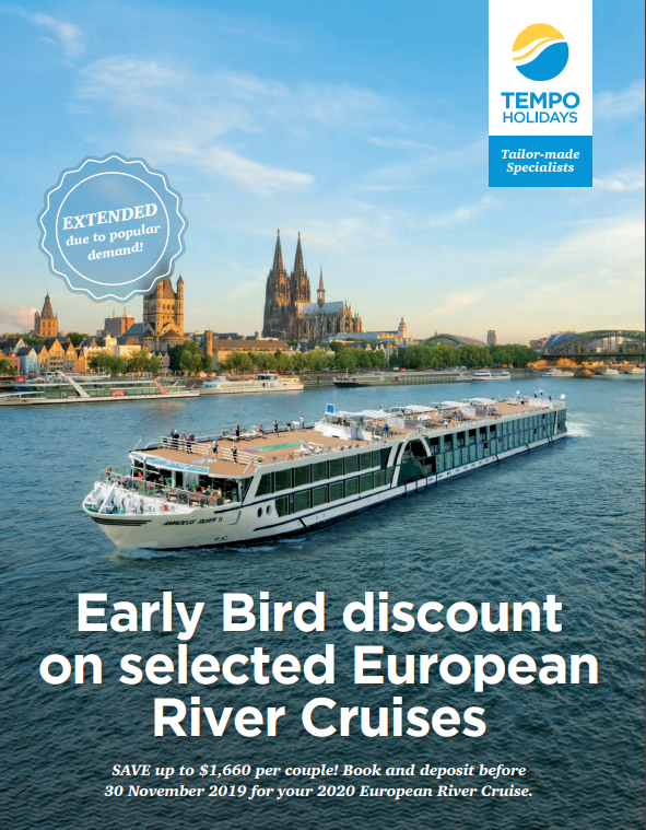 European River Cruises >> Early Bird Discount On Selected European River Cruises