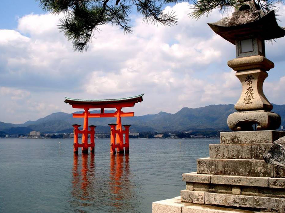 Mijiama Island torii gate